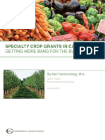 Specialty Crop Grants