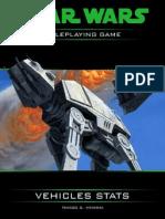 Star Wars D6 Vehicle Stats