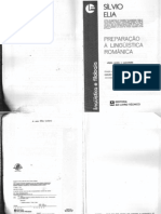 Preparação à linguística românica - Silvio Elia