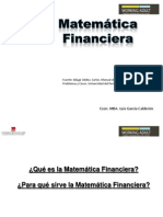 introduccion Matematica Financiera