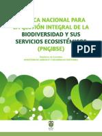 Politica Nacional Biodiversidad