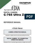 Olympus C-765 Manual