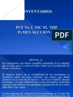 Inventarios (PCF No. 2, NIC No. 2, Seccion 13 Niif Pymes) 2012