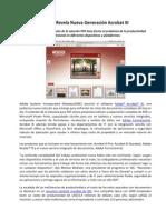 Adobe Revela Nueva Generación Acrobat XI