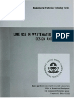 EPA Lime WW Treatment Design