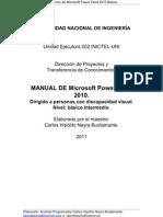 Manual Técnico de MS Power Point 2010 Básico