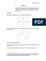 Fractions by www.mathematics.me.uk
