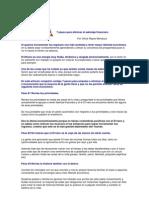 7 Pasos Para Eliminar El Sabotaje Financiero