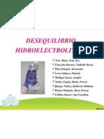 DESEQUILIBRIO HIDROELECTROLITICO
