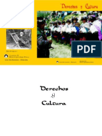 Derechos y Cultura