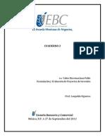 Formulacion de Proyectos. Cuaderno 2 Jp