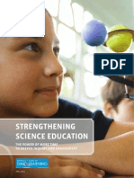Strengthening Science Education