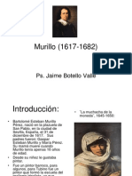 Murillo (PINTOR ESPAÑOL). Ps. Jaime Botello Valle.