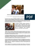 Diputados Ciudadanos solicitan información sobre las finanzas del Legislativo.