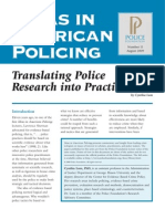 Translating Police Research into Practice