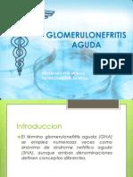 GLOMERULONEFRITIS AGUDA