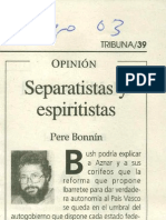 Separatistas y Espiritistas