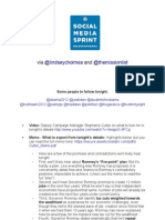 #BlogForObama - Social Media Sprint for tonight's debate