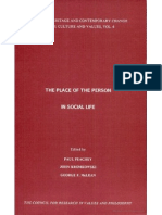 Paul Peachey, John Kromokwski and George F. McLean - the Place of the Person in Social Life