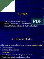 Ciroza Med.gen.