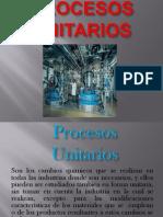 Diapositivas de Procesos Unitarios