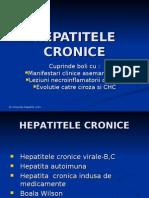 HEPATITELE CRONICE