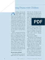 Using Drama With Children