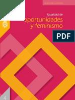 Igualdad de Oportunidades y Feminismo