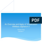 An Overview and Apply of Virtualization