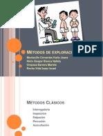 metodos de exploración clinica
