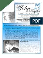 Bulletin October 7 2012