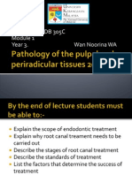 Revised Version Pathology of the Pulpal and Periradicular Tissues 2012_2013