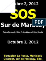 SOS Terraplén La Punta - Sur de Maracay - Lago de Valencia