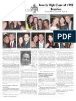 Beverly High Class of 1992 Reunion--Beverly Hills Weekly, Issue #679