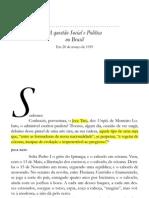 Rui Barbosa - A Questao Social e Política no Brasil