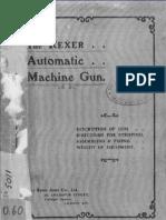 the rexer automatic machine gun