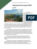Akuntansi Sosialisasikan Konvergensi IFRS