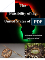 Feasibility of the United States of Africa