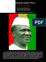 Enhancing the People s Power Religion and Revolution President Ahmed Sekou Toure