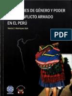 Cuestiones de Genero y Poder en El Conflicto Armado en El Peru - Narda Henriquez Ayin