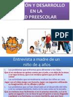 Nutricion y Desarrollo en La Edad Preescolar