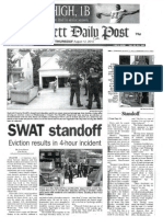 Gwinnett Daily Post - August 11, 2010 - Graber Eviction