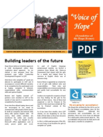 Voice of Hope - October, 2012