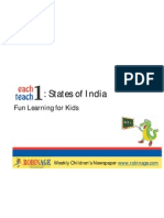 Fun Learning for Kids - States of India