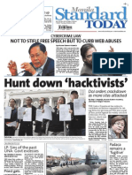 Manila Standard Today -- Thursday (October 04, 2012) issue