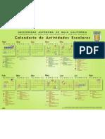 Calendario 2012-2 2013-1