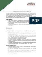 Normas de Publicacion - Boletín 'A pico y pala' AMTTA