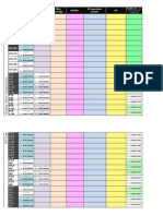Cheet Sheet for Becker Rotary Vane Parts