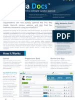 Ascertia Docs Datasheet