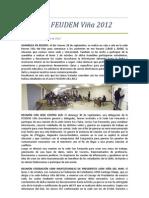 Acta Nº 6 Federación 2012